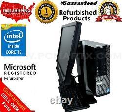 DELL OPTIPLEX 7010 SFF ALL-IN-ONE 19 DESKTOP PC INTEL i5 WIN 10 1 YEAR WARRANTY