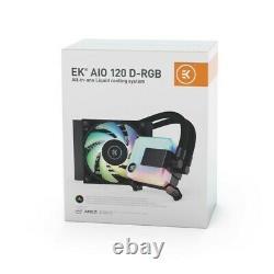 EK AIO 120mm D-RGB EKWB All-in-One Liquid CPU Cooler 5 Year Warranty