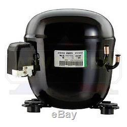 Embraco NT6217GKV2 Compressor 3/4 HP, MBP, R404a, 220V One Year Warranty
