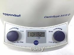 Eppendorf 5415D Centrifuge with Rotor F45-24-11 & Lid, One (1) Year Warranty