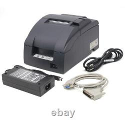 Epson TM-U220B Receipt Printer COM Interface come with ribbons one year Warranty