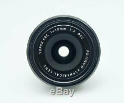 Fujifilm XF 18mm f/2 R Lens one year fuji warranty (NEW BOX) SALE