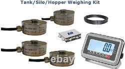 Hopper/ Silo weighing kit 1000kg1kg- One year Warranty (St Steel display)