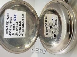 Howard 4383 kw 5oz coin FULLY RESTOED Civil War One Year Guarantee