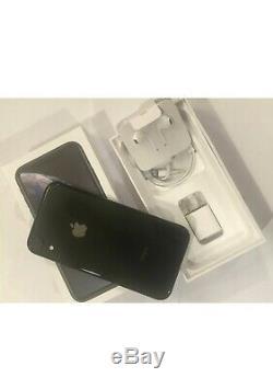 Iphone XR Unlocked 256 GB Black One Year Warranty
