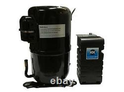 Kulthorn KM2464ZK-2 Compressor 1-1/2 HP Low Temp R404A, 220V ONE YEAR WARRANTY