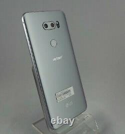 LG V30 VS996 64GB Silver (Verizon) Smartphone ONE YEAR WARRANTY