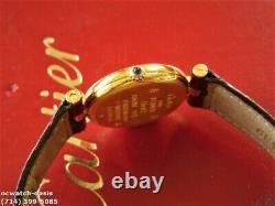Ladies CARTIER Vendome QUARTZ, Stunning Dial, One Year Warranty