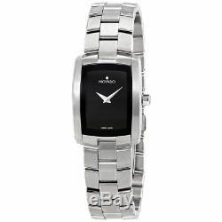 Ladies Movado Eliro Quartz Wrist Watch One-Year Limited Warranty