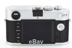 Leica M-P (Typ 240) 10772 chrome with one year of warranty // 32657,20