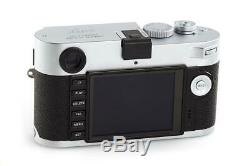 Leica M-P (Typ 240) 10772 chrome with one year of warranty // 32657,32