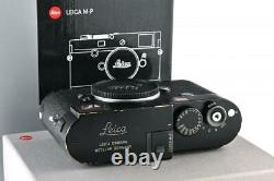 Leica M-P (Typ 240) 10773 black paint with one year of guarantee // 33029,11