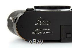 Leica M-P (Typ 240) 10773 black paint with one year of warranty // 32657,15