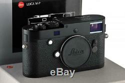 Leica M-P (Typ 240) 10773 black paint with one year of warranty // 32925,27
