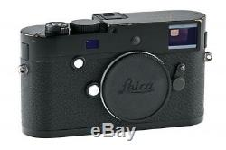 Leica M-P (Typ 240) 10773 black paint with one year of warranty // 32925,29