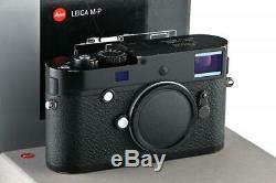 Leica M-P (Typ 240) 10773 black paint with one year of warranty // 32925,39