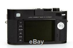Leica M (Typ 240) 10770 black paint with one year of warranty // 32446,48