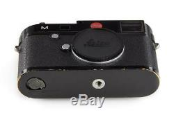 Leica M (Typ 240) 10770 black paint with one year of warranty // 32657,51