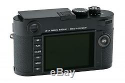 Leica M (Typ 262) 10947 black like new with one year of warranty // 32925,57