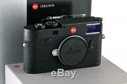 Leica M10 20000 black chrome with one year of warranty // 32925,44
