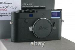 Leica M10-D 20014 black chrome like new with one year of guarantee // 33206,4