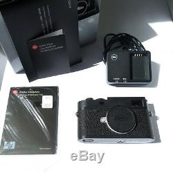 Leica M10-P black chrome NEW (unused) with one year of warranty, complete
