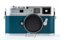 Leica M9-P Chrome/Petrol like new with one year warranty // 32369,2