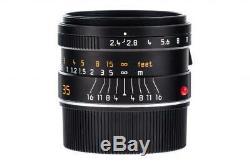 Leica Summarit-M 11671 2,4/35mm 6-bit with one year of warranty // 32759,27