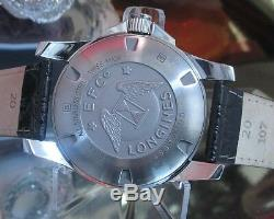 Longines Conquest L3.657.4 automatic date watch Swiss 41 mm One Year Warranty