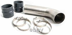 MFD 4 Stainless Steel Intake Resonator Pipe For 17-19 Chevy/GMC 6.6L Duramax