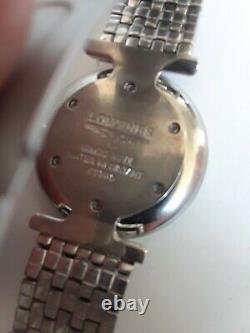 Men's Longines Stainless Steel Watch. One Year Warranty