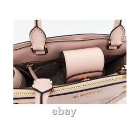 Michael Kors Karla East West Medium Satchel Bag ONE YEAR WARRANTY ON ZIPPERS