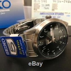 Must See Arabic Dial SEIKO 5 SNKP21J1 Automatic Made In Japan, One Year Warranty