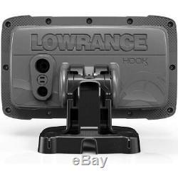 NEW Lowrance HOOK 5GPS Plotter Fishfinder/Fish Finder Sonar System withTransducer