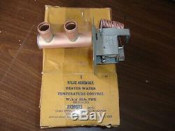 NOS 1958 Chevrolet Ranco heater valve 319880 one year warranty