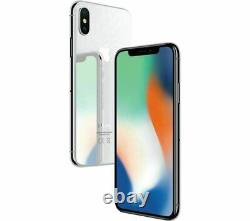 New Apple iPhone X 256GB GSM Unlocked GraySilver In Sealed Box one year warranty