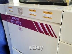 Noritsu V50 RA film processor minilab ONE YEAR warranty 50 rolls an hour 35&120