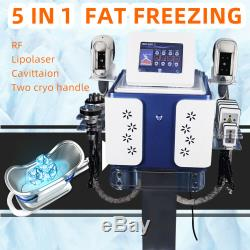 One year Warranty! Fat Freezing Cold Slimming Cellulite Weight Loss Machine