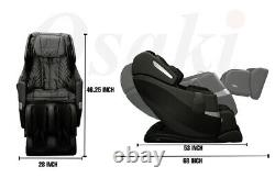 Osaki OS-Pro 3D Honor S L-Track Massage Chair Recliner One Year Factory Warranty