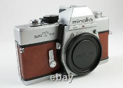 R199404 Refurbished & Reskinned Minolta SRT 101 35mm SLR One Year Warranty