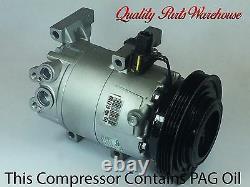 Reman. AC Compressor Fits 2010-2011 KIA SOUL 2.0L With One Year Warranty