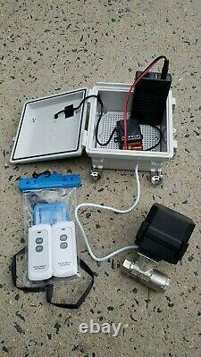 Remote Controlled DN-10 4,000 PSI 12 GPM Bypass Ball Valve One Year Warranty