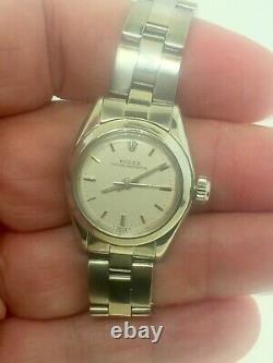 Rolex 1978 Ladies Wrist Watch Model 6718 One Year Warranty Best Offer