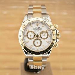 Rolex Cosmograph Daytona Boxed with One Year Warranty