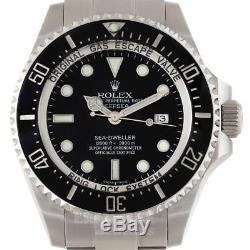 Rolex DEEPSEA SEA-DWELLER Mens Watch 116660 One Year Warranty 2016