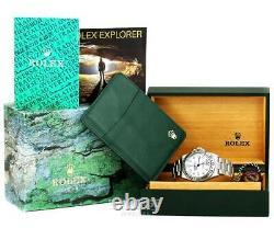 Rolex Explorer II Mens Watch 16570 One Year Warranty 2004