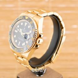 Rolex GMT Master II Boxed with One Year Warranty Serviced 2021 (AGA)
