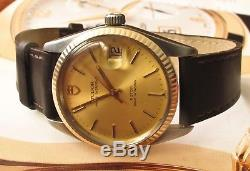 Rolex Tudor Oyster Prince Automatic Date Watch Model 75203 One Year Warranty