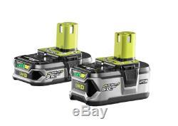 Ryobi 18V One+ 2.5/5.0Ah Lithium+ Battery Combo-3 year Warranty