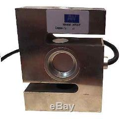 S Type load cell, 3000 kg capacity One year Warranty